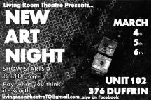 8: The Boys of Living Room Theatre / New Art Night / http://wp.me/p3483T-4G