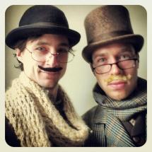 Moustache iii (with Holmes)