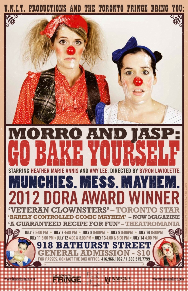 morro and jasp - fringe13 go bake yourself 2013 11x17 textured draft 2