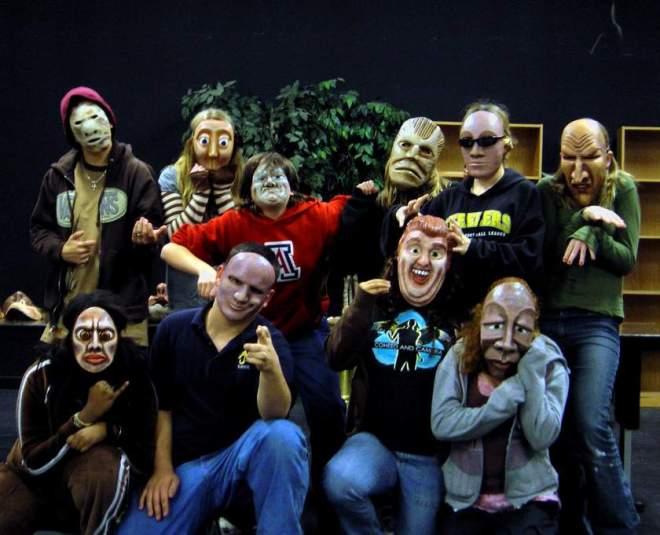 Arizona High School students masked