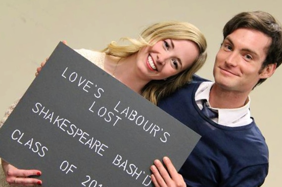 Love's Labour's Lost - Hallie Seline & Jesse Nerenburg - Photo Credit: Jesse Griffiths & Kyle Purcell