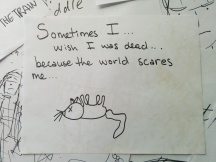 i wish i was dead