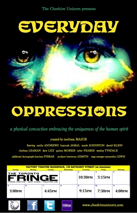 everyday oppressions poster