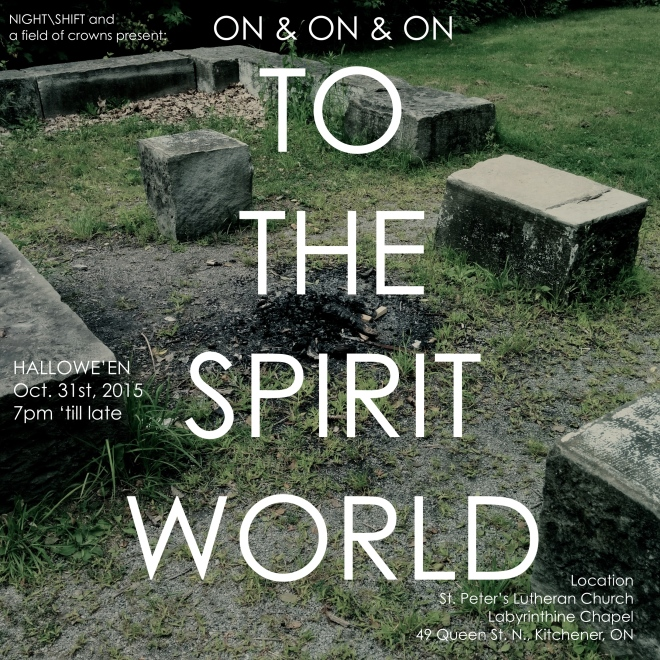ON AND ON AND ON...to the spirit world